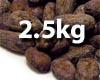 Raw Cocoa Beans - Vanuatu - 02.5kg