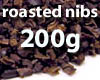 Roasted cocoa nibs - 200g