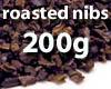 Roasted cocoa nibs - 200g
